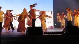 מחרוזת-ליבבתיני, יחזקאל, כינור דוד המלך, השוק, יה ליל,גברת עם סלים,- מופע פתיחה מחול כרמיאל 2016