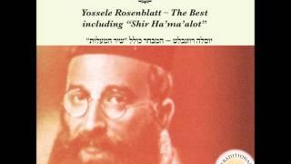 יוסלה רוזנבלט -נשמת כל חי- המבחר