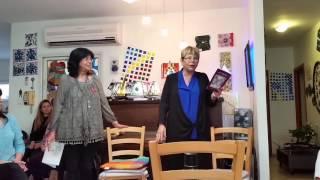 אביבה גולן ושרה אהרונוביץ קרפנוס אצל אורלי נתנאל