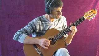 """בואי לאילת (נורית הירש)- עיבוד לגיטרה מאת חגי רחביה ( Come to Eylat """"-Israeli Bossa Nova"""")"""